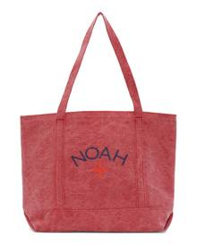 Noah Red Recycled Canvas Core Logo Tote