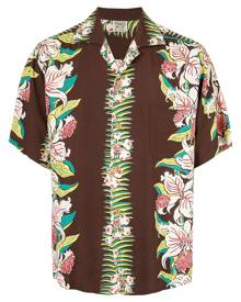 Fake Alpha Vintage Hawaiian print shirt - Multicolour