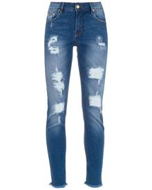 Amapô ripped skinny-fit jeans - Blue