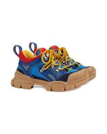 Gucci Kids children's Flashtrek sneakers - Blue