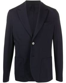 Harris Wharf London fitted single-breasted blazer - Blue