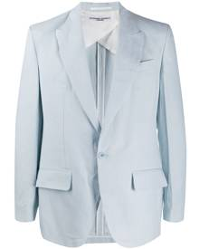 Katharine Hamnett London single breasted blazer - Blue
