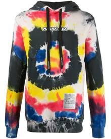 Mauna Kea tie-dye hooded sweatshirt - Black