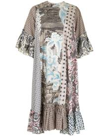 Biyan patchwork dress - Multicolour