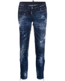 Dsquared2 Jennifer cropped skinny jeans - Blue