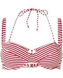 Marlies Dekkers Holi Vintage striped double-strap bikini top - Red