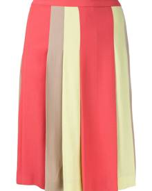 Moschino Vintage pleated short skirt - Multicolour