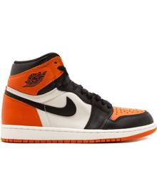 Jordan - Air Jordan 1 Retro High OG - men - Leather - 10.5, 11, 12, 14 - BLACK