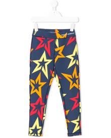 Perfect Moment Kids - star print leggings - kids - Nylon/Spandex/Elastane - 6 yrs, 8 yrs, 10 yrs, 12 yrs - MULTICOLOUR