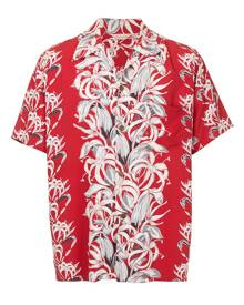 Fake Alpha Vintage 1950's Hawaiian shirt - Red