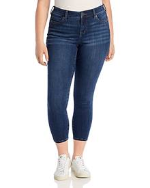 Liverpool Los Angeles Plus Liverpool Plus Ankle Skinny Jeans in Elysian Dark