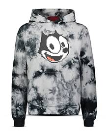 8-Bit by Mostly Heard Rarely Seen Felix Graphic Tie-Dye Hoodie
