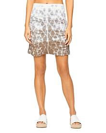 Xcvi Tie Dyed Ruched Skirt