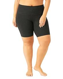 Beyond Yoga Maternity Plus High Waisted Biker Shorts
