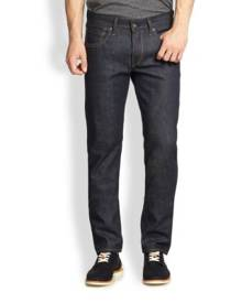 Rag & Bone Fit 2 Slim-Fit Raw Jeans