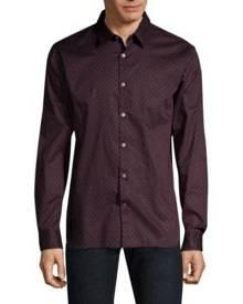 John Varvatos Star U.S.A. Long Sleeve Button-Down Shirt