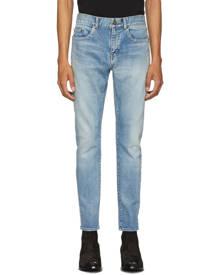 Saint Laurent Blue Skinny Jeans
