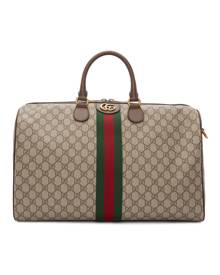 Gucci Beige Medium Ophidia Duffle Bag