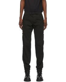 Moncler Black Belted Cargo Pants