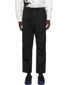 Y-3 Black Twill Cargo Pants