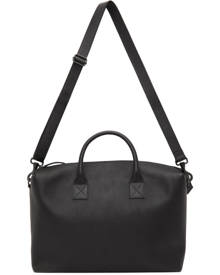 Marsell Black Leather Duffle Bag