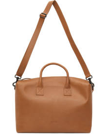 Marsell Tan Leather Duffle Bag