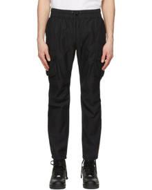 John Elliott Black Sateen Cargo Pants
