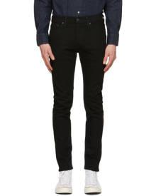 Levis Black 510 Skinny-Fit Flex Jeans
