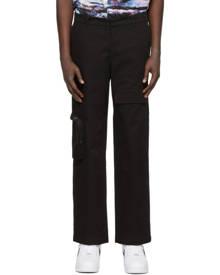 Rochambeau Black Carpenter Cargo Pants