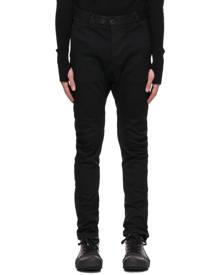 Boris Bidjan Saberi Black Resin-Dyed Skinny Jeans