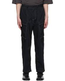 Sasquatchfabrix. Black Military Cargo Pants