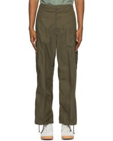 BEAMS PLUS Khaki Military 6-Pocket Cargo Pants