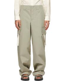 Jacquemus Khaki Le Pantalon Alzu Cargo Pants