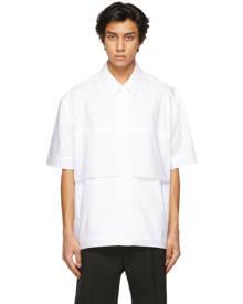 Juun.J White Layered Short Sleeve Shirt