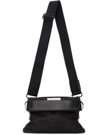 Maison Margiela Black Nylon Small Messenger Bag