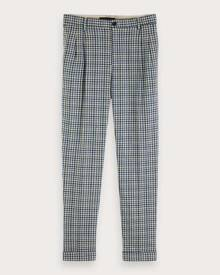 Scotch & Soda Twilt - Checked Trousers Loose tapered fit