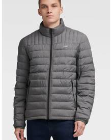 DKNY Men's Packable Quilted Puffer - Heather Grey - Size S