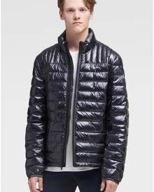 DKNY Men's Packable Quilted Puffer - Black - Size S