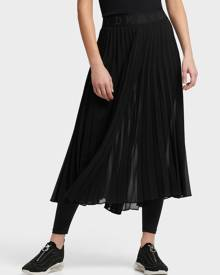 DKNY Women's Pull On Pleated Skirt With Leggings - Black - Size XX-Small