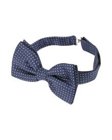 Forzieri Designer Bowties and Cummerbunds, Small Polkadot Pre-Tied Silk Bowtie