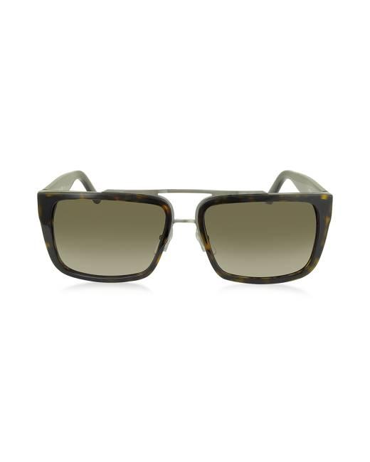 Marc Jacobs Designer Sunglasses, MARC 57/S Acetate Rectangular Aviator Men's Sunglasses