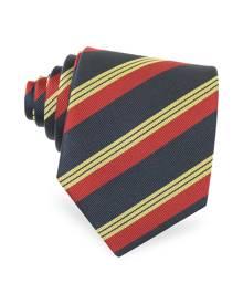 Forzieri Designer Ties, Regimental Silk Tie