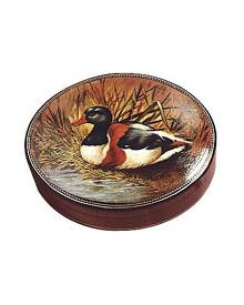 Bianchi Arte Designer Jewelry Boxes, Oil on Leather Jewelry Box