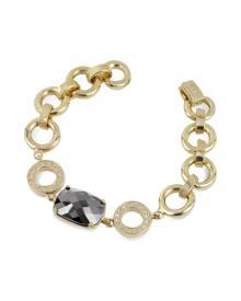 AZ Collection Designer Bracelets, Gold Plated Chain Bracelet