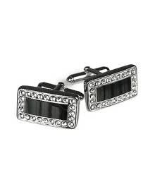Forzieri Designer Cufflinks, Silver Plated Cuff Links