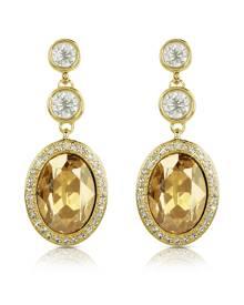 AZ Collection Designer Earrings, Triple Drop Earrings
