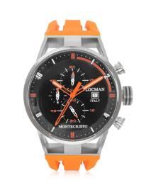 Locman Designer Men's Watches, Montecristo Stainless Steel and Titanium Case Men's Watch