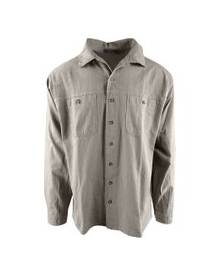 Tilley JL115 Crinkle Cotton Long Sleeve Shirt - White - S