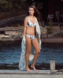 Brava Woman Fantasie Cocoa Island Low Rise Reversible Brief