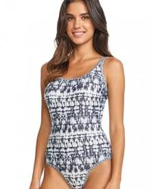 Brava Woman Moontide Modern Ink Cami Swimsuit